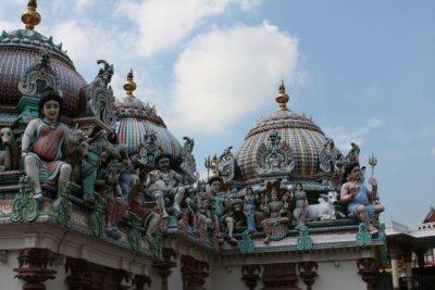 Sri Mariamman Temple, midday